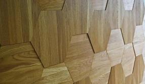 5 Элемент - 3D плитка из дуба