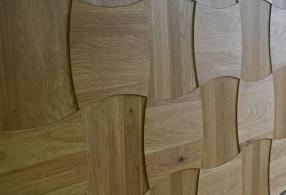 Винда - 3D плитка из дуба