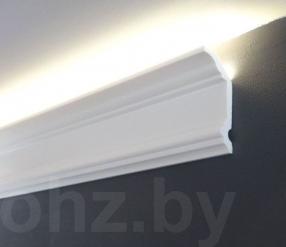Карниз 8см из дюрополимера Kz081 для подсветки или натяжного потолка