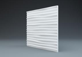 Линии - гипсовые стеновые панели