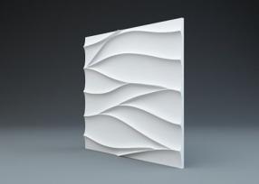 Нежность - гипсовые стеновые панели