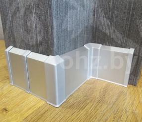Плинтус алюминиевый PK70 7см