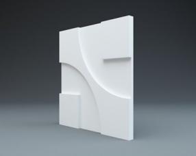 Техно - гипсовые стеновые панели