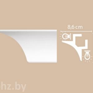 Карниз для подсветки Decomaster A201