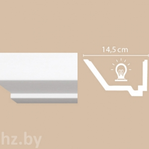 Карниз для подсветки Decomaster A206