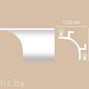Карниз из дюрополимера для подсветки Decomaster А208