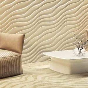 Дюны - гипсовые стеновые панели