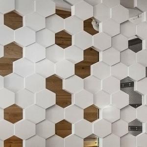 Hive перегородка гипсовая 3д
