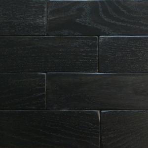 Черный - Кирпичик Woodbrick - стеновая панель из дуба