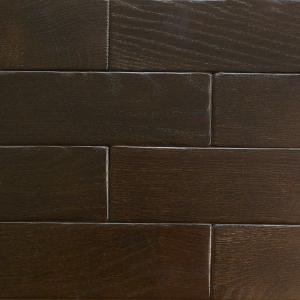 Коричневый - Кирпичик Woodbrick - стеновая панель из дуба