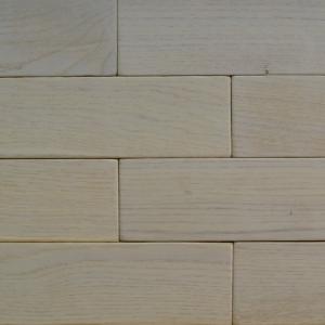 Силикат - Кирпичик Woodbrick - стеновая панель из дуба