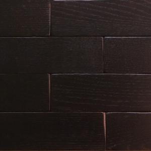 Венге - Кирпичик Woodbrick - стеновая панель из дуба