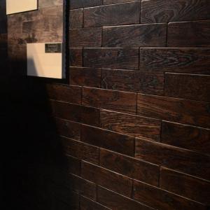 Кирпичик Woodbrick - стеновая панель из дуба