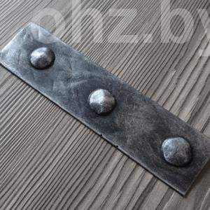 Декоративная накладка на балку Серебро