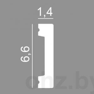 Молдинг 6,5 см из дюрополимера. Ударопрочный, влагостойкий