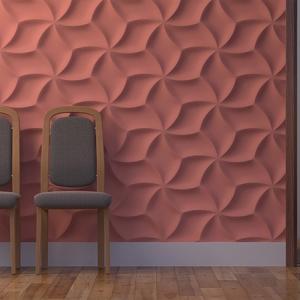 Оригами - гипсовые стеновые панели