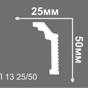 Потолочный плинтус 5 см