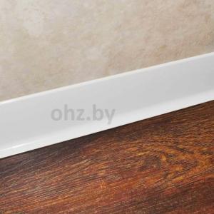 Белый алюминиевый плинтус